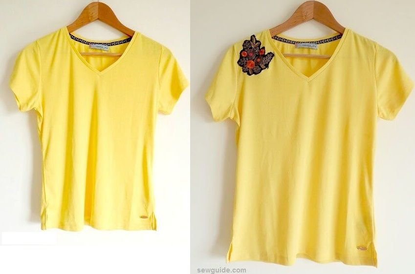 refashion old tshirts
