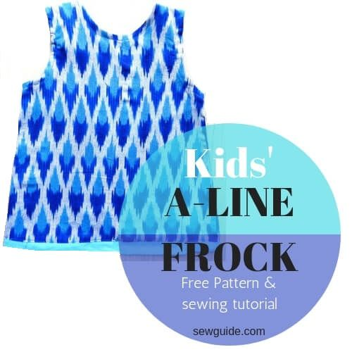 aline frock patter for girls