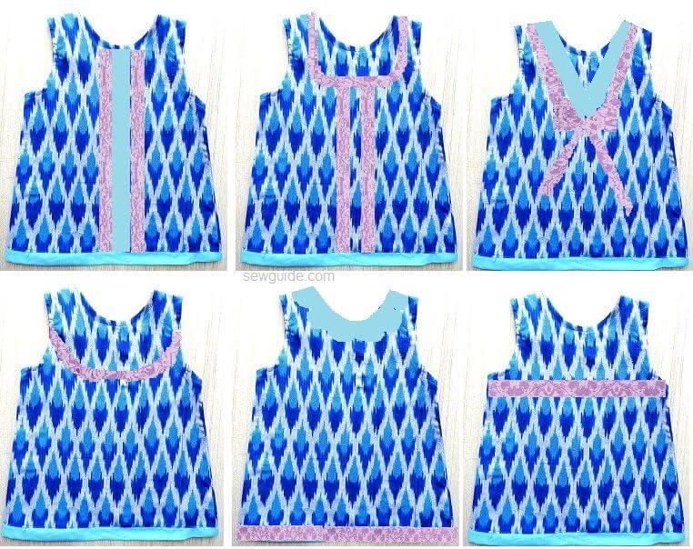 aline frock pattern