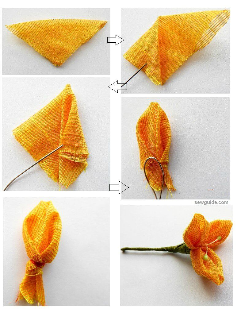 Flower Making 10 Super Easy Diy Ways To Make Fabric Flowers Sew Guide