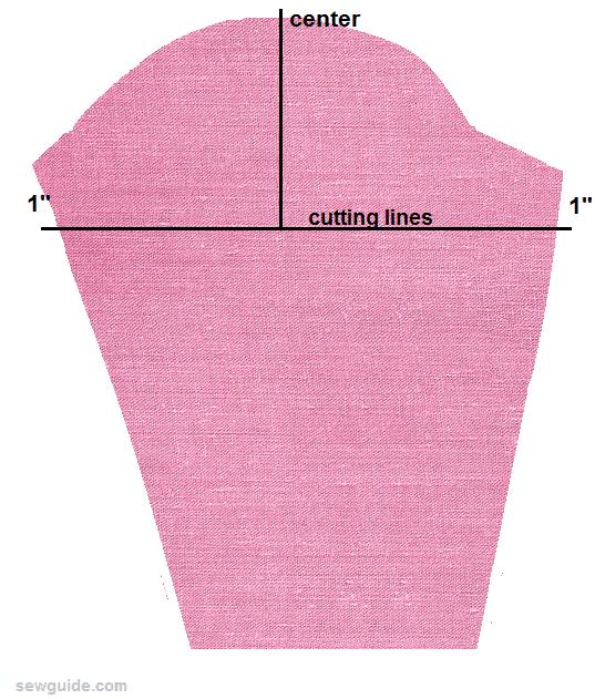 leg of mutton sleeve pattern