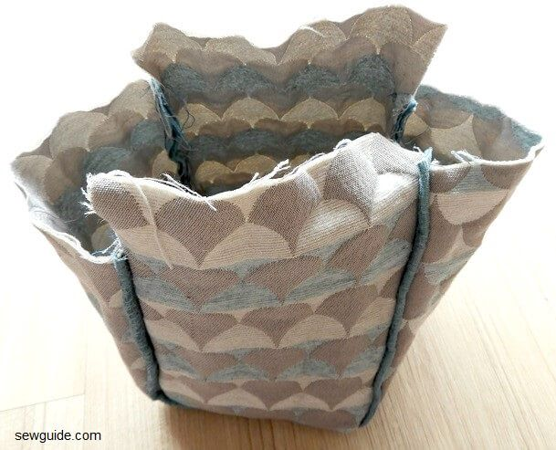 lunch box cover diy tutorial
