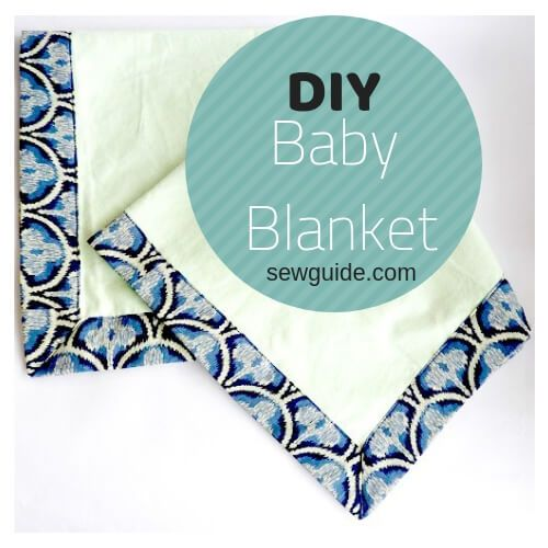 how to sew a baby blanket