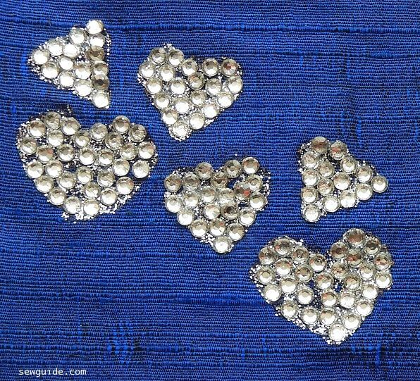 How to fix rhinestones on clothes - Sew & No sew methods