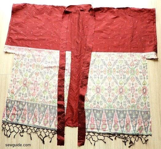 kimono sleeved cardigan tutorial