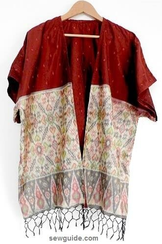 1 Hour Kimono Cardigan - A simple pattern & quick tutorial