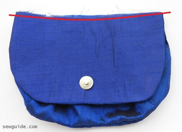 how to easily sew a purse