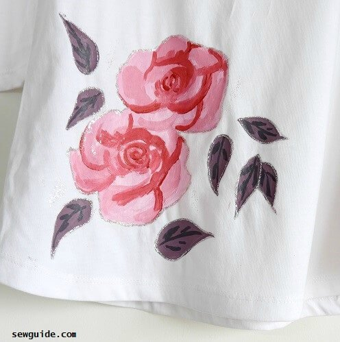how to do tshirt painting