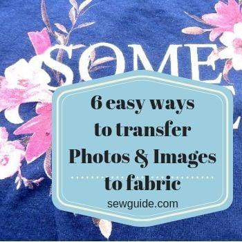 transfer photos to fabric