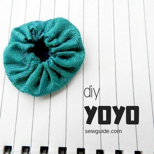 make a yoyo with cloth