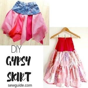 f6b2d4c820fb Make a Gypsy skirt - 2 easy ideas - Sew Guide