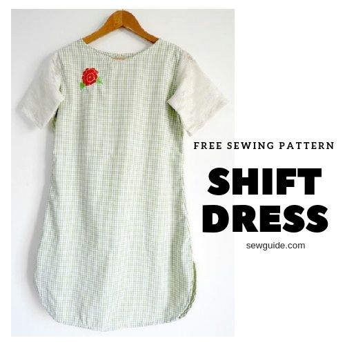 sew a shift dress