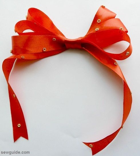 make christmas bow