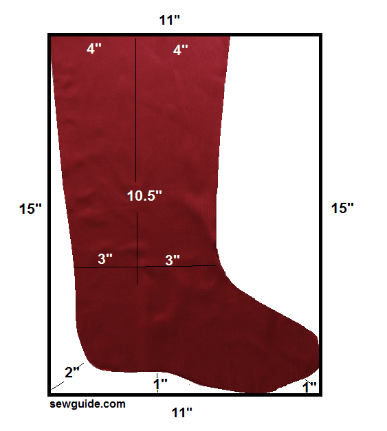 christmas stocking- Pattern