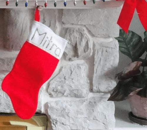 make christmas stocking