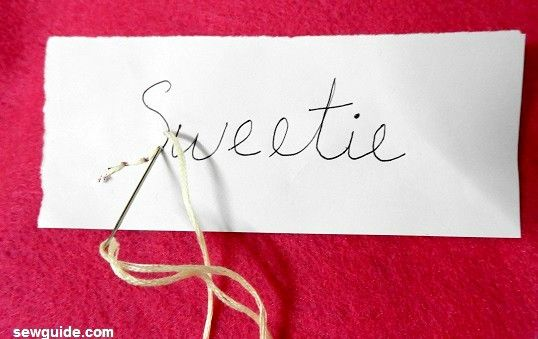 9 ways to {EMBROIDER LETTERS} on your clothes