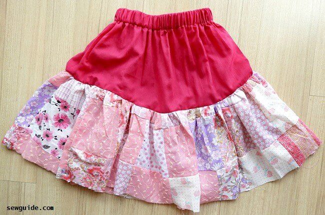 gypsy skirt diy tutorial