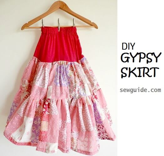 make gypsy skirt
