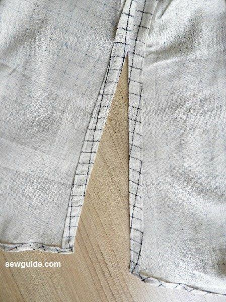 offshoulder dress sewing pattern