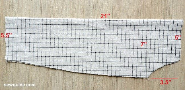 offshoulder tunic dress pattern