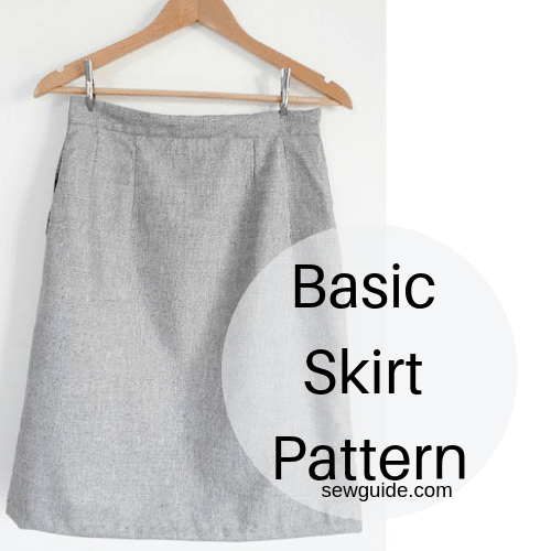 basic skirt pattern