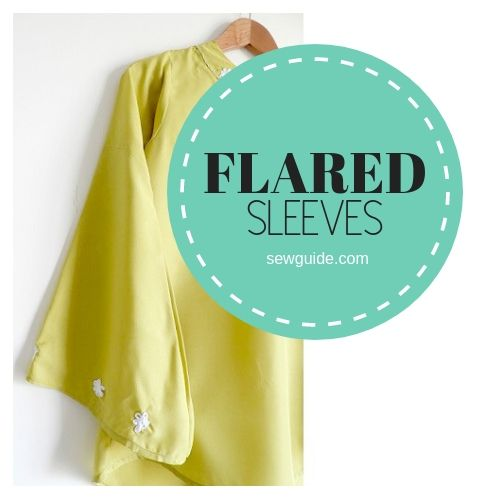 Flared Sleeves Pattern {Sew a Flare Sleeve Top-Tutorial}