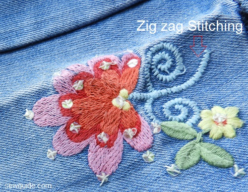 Zig Zag Stitch - 15 most important uses - Sew Guide