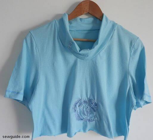 t shirt cutting diy