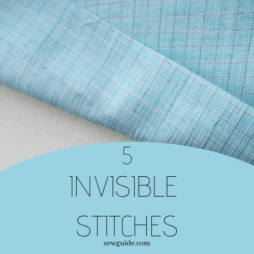 invisible stitches