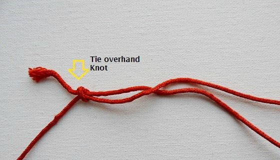 10 Basic Knots you can use for sewing & crafts {How to tie them}