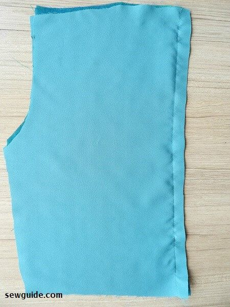 dress lining sewing