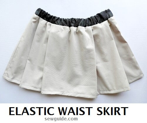 elastic skirt pattern