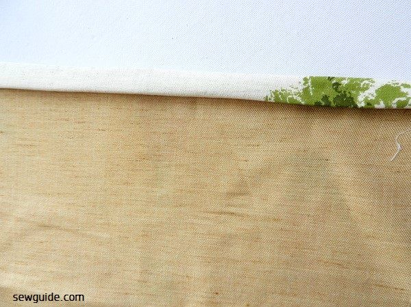 grocery bag sewing tutorial