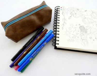 pencil case diy tutorial