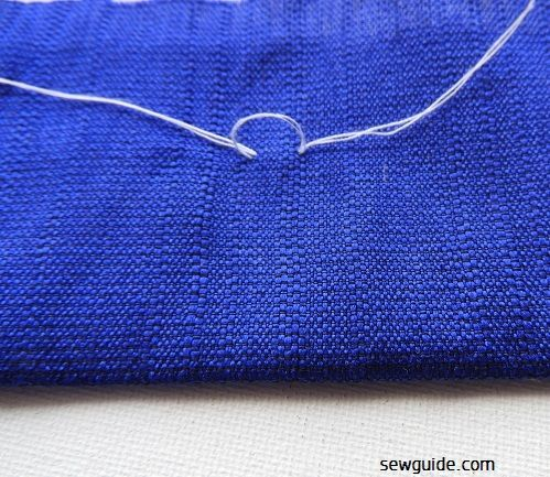 5 ways to Tie a Knot and secure your thread in Hand Stitching