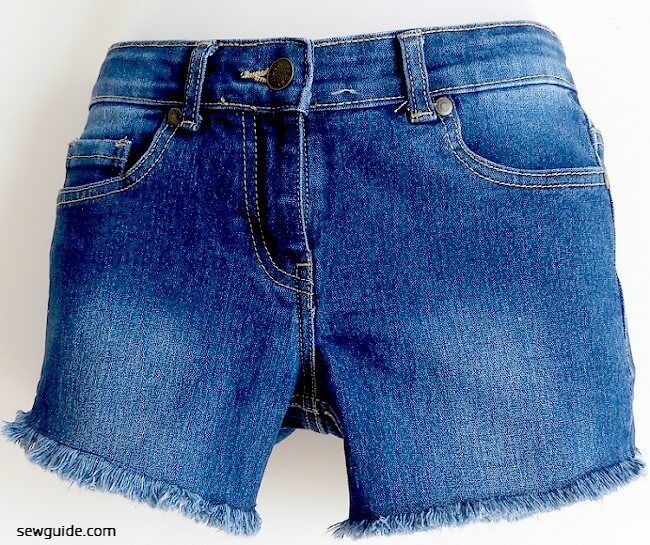 cut off denim shorts tutorial