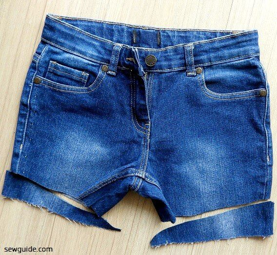 CUT JEAN SHORTS & 7 easy ideas to make cut off denims different from the ordinary