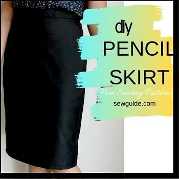 sew pencil skirt