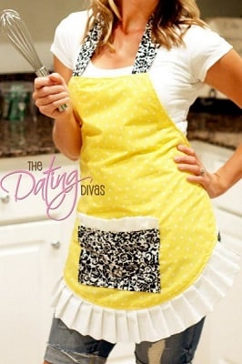 free apron sewing patterns and tutorials