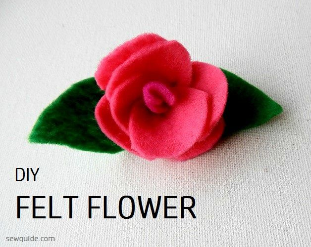 How To Make Felt Flowers 10 Easy Tutorials To Make Diy