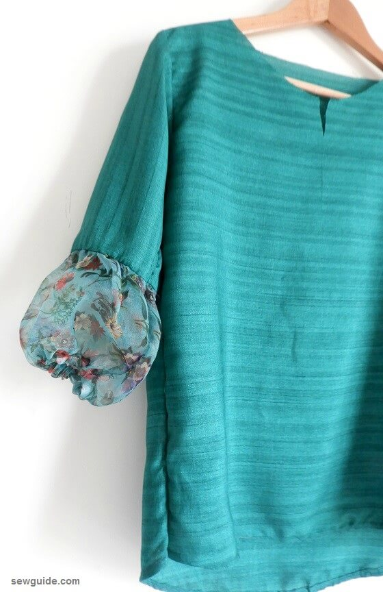 sew a puffy sleeve top
