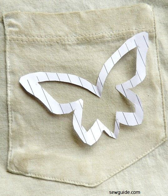 Simple T-shirt decorating - 15 easy ideas to make your own custom t-shirt
