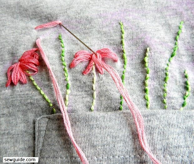 25 beautiful ways to stitch EMBROIDERY FLOWERS - Sew Guide