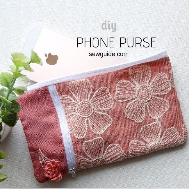 easy phone purse
