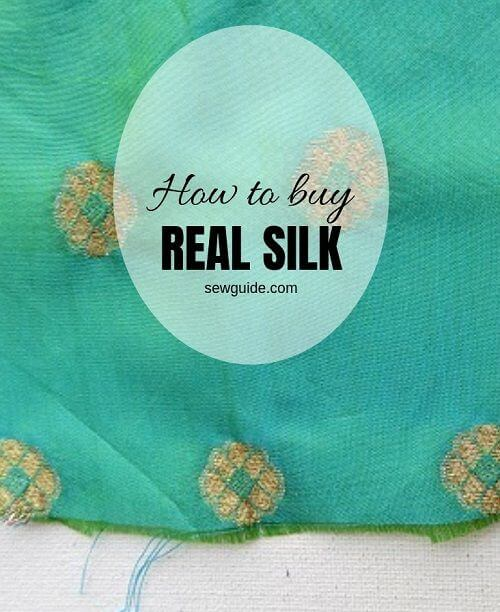 how to buy real pure silk