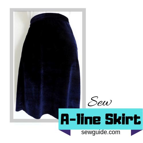sew Aline skirt