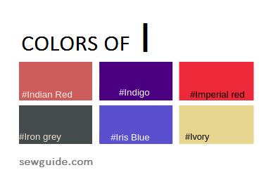 colour names in fashion