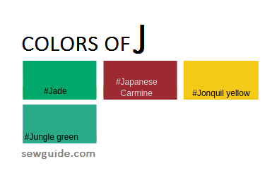color names in fashion