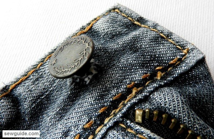 jeans button replacement