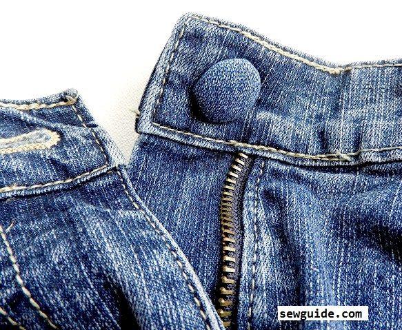 fix jeans buttons